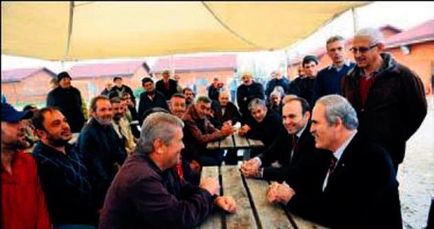 Başkan Altepe'den moral ziyareti
