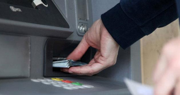 ATM'den para çekmek isterken şoke oldu