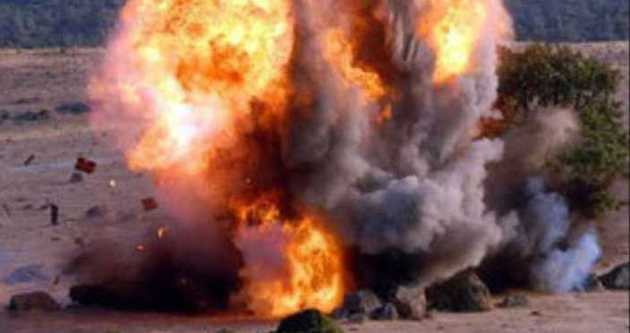 Çanakkale'de esrarengiz patlama