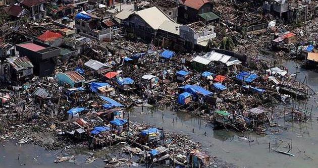 Filipinler'de Hagupit tayfunu 21 can aldı