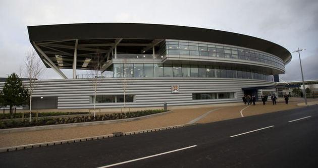 Manchester City'nin yeni tesisleri açıldı