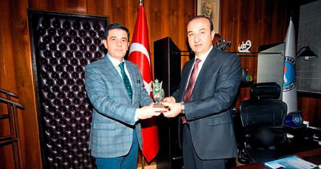 Meclis Başkanı Tarkan Kulak'tan Alemdar Öztürk'e ziyaret
