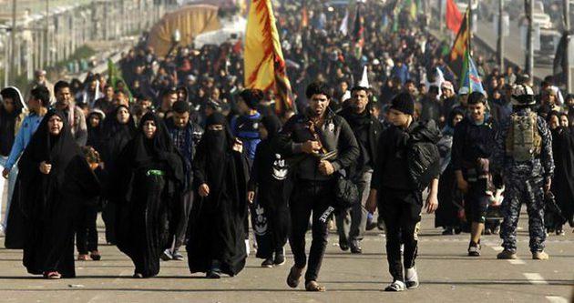 Yüzbinlerce İranlı Kerbala'da