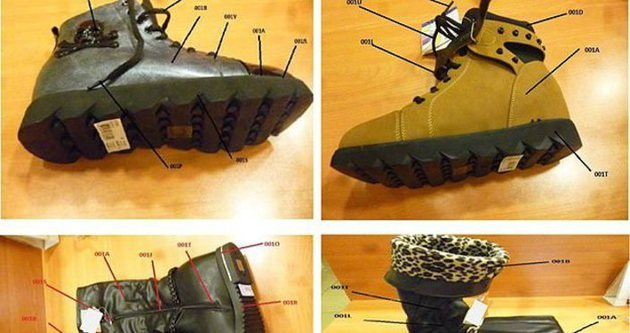 Zehir ayakkabılar Çin malı çıktı!
