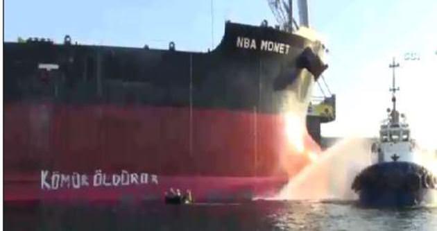 Termik santral limanında ölümlü kaza