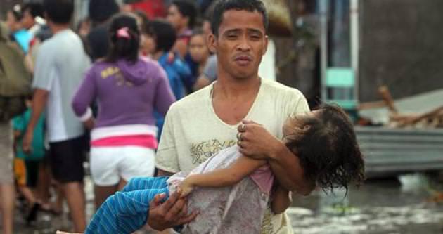 Filipinler'de tayfun 28 can aldı