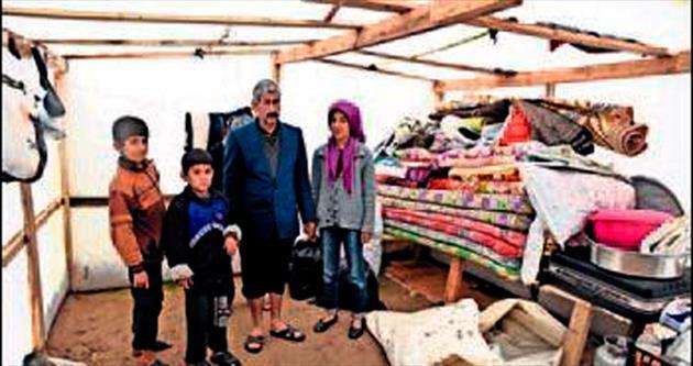 Suriyeliler de mağdur oldu