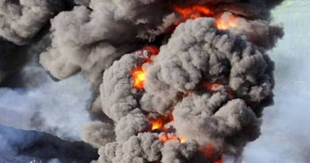 Ukrayna'da gönüllü kuruluşta patlama