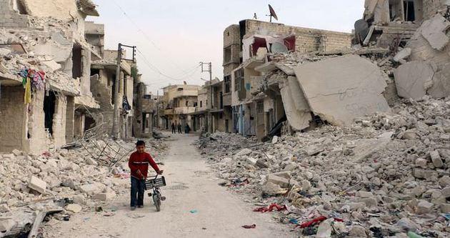 Rejim güçleri Halep'e saldırıyor