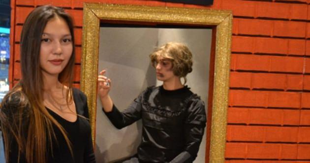 'Şiddetin Rengi' tablo sergisi açıldı
