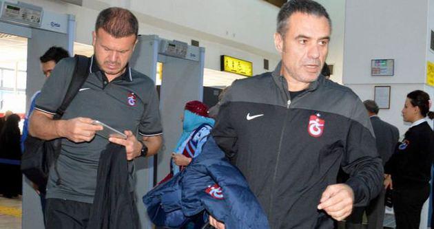 Trabzonspor 16 kişi ile gitti