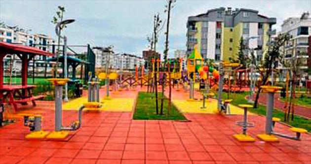 Hurma'da 2 yeni park hizmete girdi