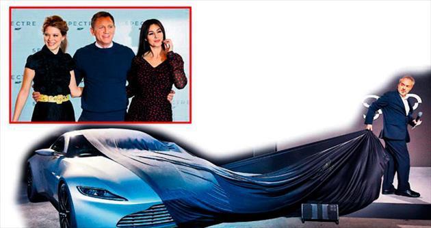 Çekimlere bir hafta kala Bond'un araçları çalındı