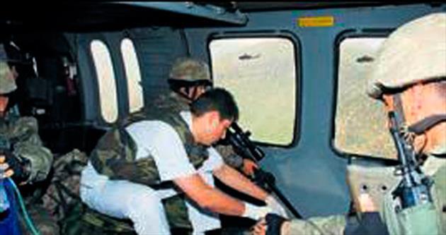 Şırnak'ta 1 yılda 22 hastayı askeri helikopter taşıdı