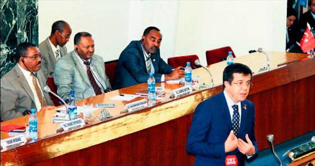 Etiyopya'ya Türk bankası açılacak