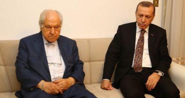 Erdoğan'dan, Nuri Pakdil'e ev ziyareti
