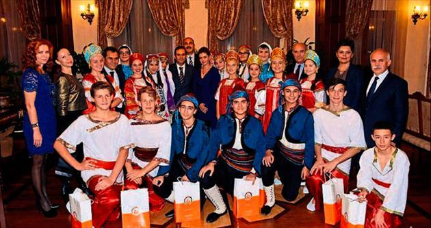 Vali Türker'in özel konukları
