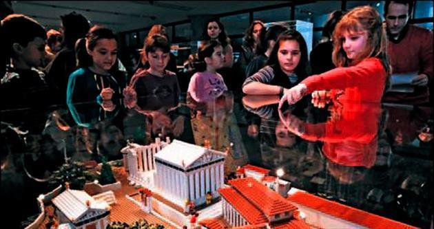 Akropolis'in lego versiyonu yapıldı