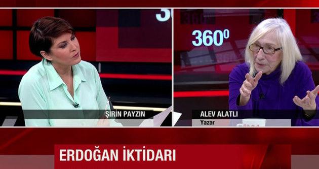 Alev Alatlı'dan Şirin Payzın'a 'Gezi' şoku