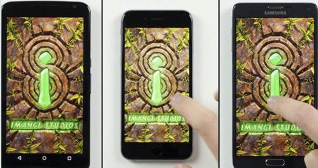 Nexus 6, iPhone 6 ve Note 4 hız testi