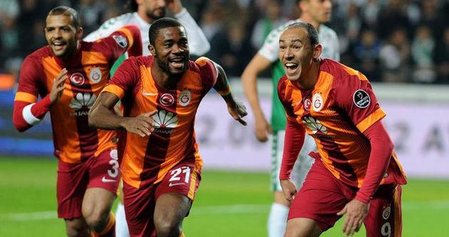 Galatasaray lige fırtına gibi döndü