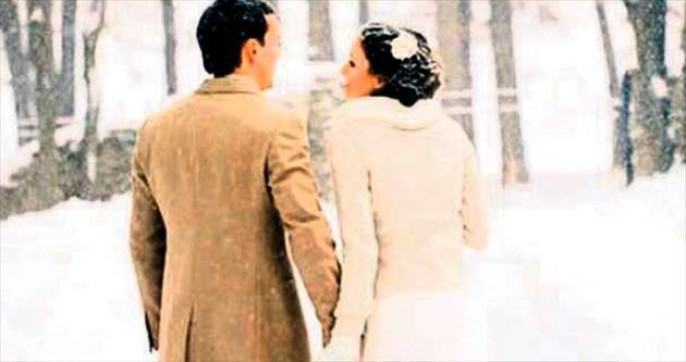Kış düğünleri moda oldu
