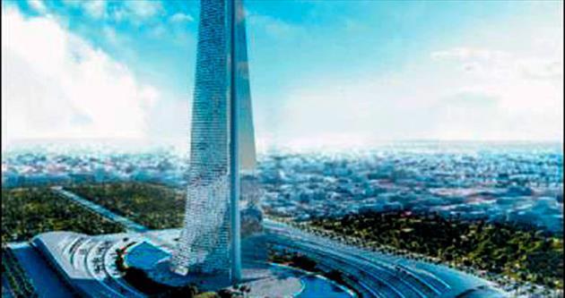 Afrika'nın en yüksek kulesi Fas'a yapılıyor