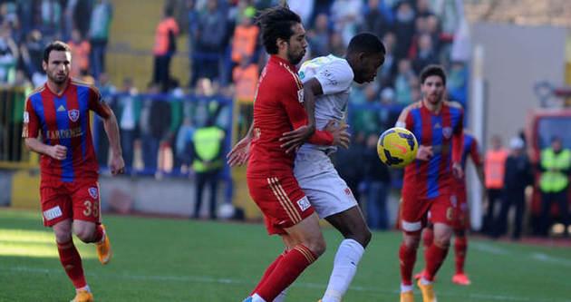 Gol düellosu Karabükspor'un