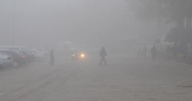 Ulaşıma sis engeli