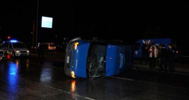 Ağrı'da kaza: 1 şehit, 4 yaralı!