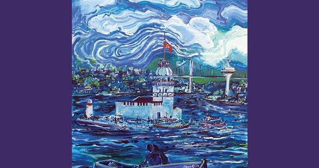 İstanbul'un ressamı Ned Pamphilon'un sergisi sanatseverlerle