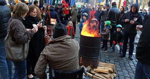 Belçika'da yıllar sonra grev düzenlendi