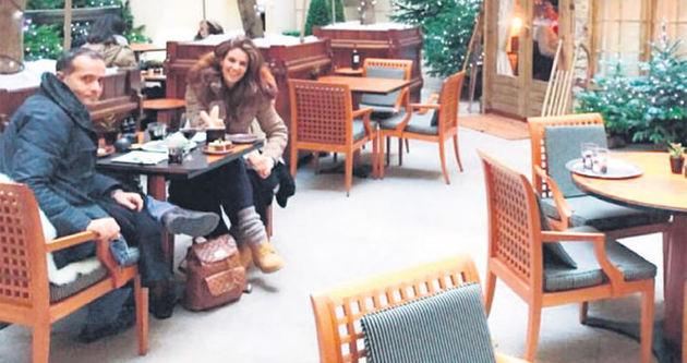 Tülin Şahin'e eşi Memet Özer'den doğum günü jesti
