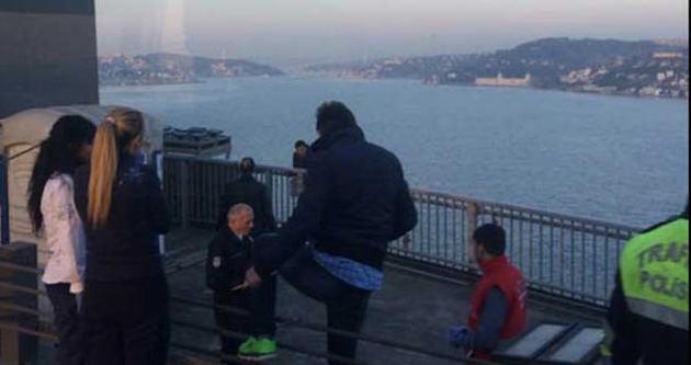 İstanbul trafiğini felç eden olay!