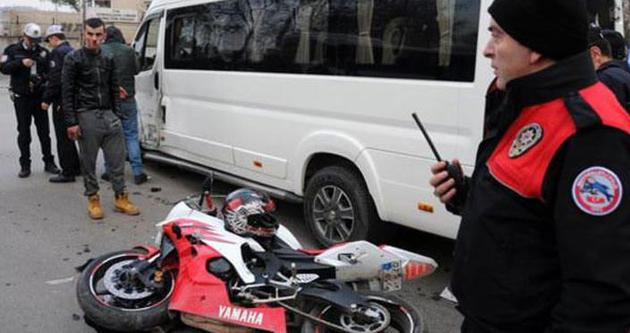 Polisi bile şaşkına çeviren kaza