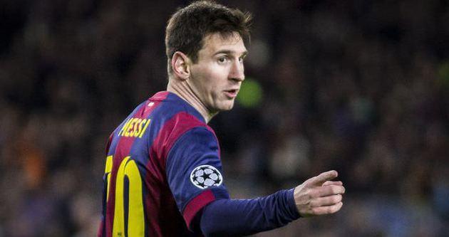 Messi'den Cezayir'e yardım