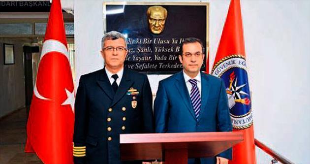 Vali Türker'den iade-i ziyaretler