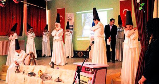 Pursaklar'da Mevlana etkinliği