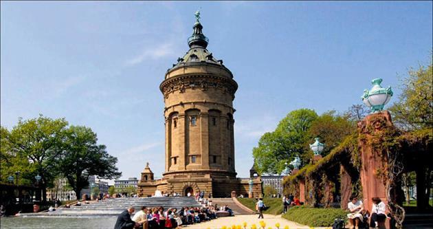 Sakin ve çok kültürlü bir kent Mannheim