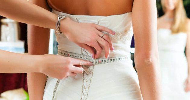 Düğününüzde fit görünmenin yolları