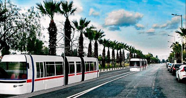 Karşıyaka Tramvayı'nda bin 300 ağaç tehlikede