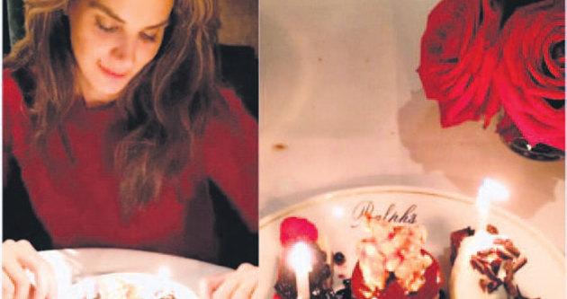 Tülin Şahin'e doğum günü sürprizi
