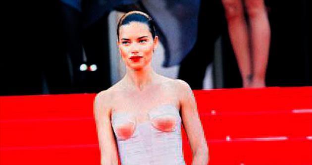 Favorisi Cannes elbisesi