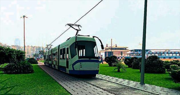 Konak Tramvayı Mithatpaşa'dan geçecek