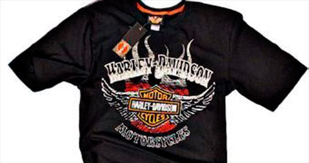 Kanserojen boyalı tişörtler ünlü bir firmaya ait çıktı