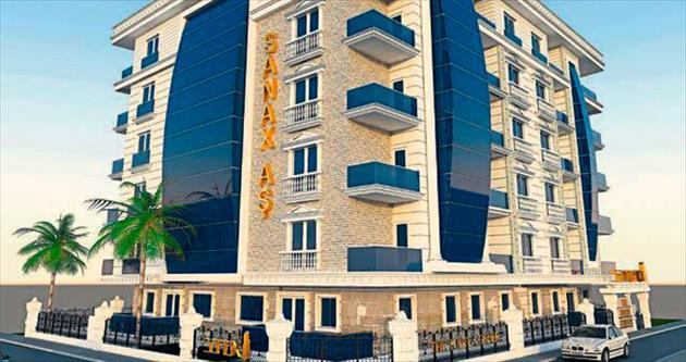Sanax'tan 2015'te Antalya'ya proje