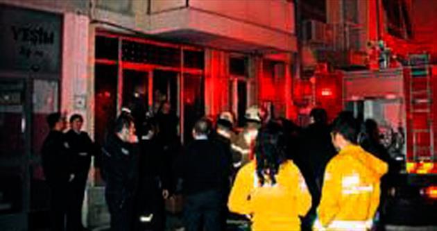 Yangında 1 kişi hayatını kaybetti