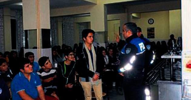 Liseli gençlere güvenlik eğitimi