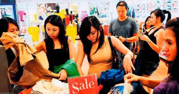 Tekstilde rota Asya'ya çevrildi