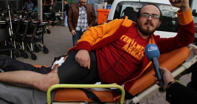 Galatasaray taraftarı bıçaklandı